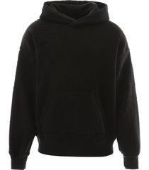 amiri oversized shotgun hoodie