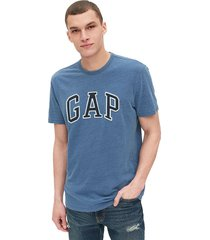 camiseta azul gap medium indigo