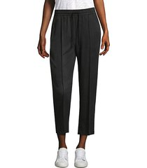 tencel pull-on cropped pants