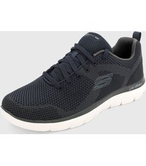 tenis training azul-gris skechers brisbane