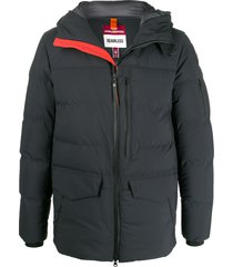 parajumpers hooded padded coat - black