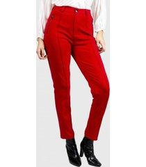 pantalon rosell rojo fashion's pacific
