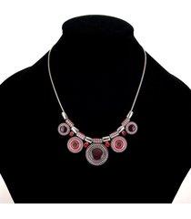 collana con ciondolo bohemien collana con ciondoli in lega etnica collana con ciondoli in lega di diamanti