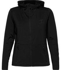 hmlselby zip hoodie hoodie trui zwart hummel