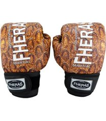 luva boxe muay thai fheras new top cobra ll