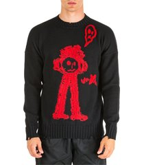 marcelo burlon crew neck neckline jumper sweater pullover sketch