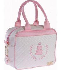 frasqueira para maternidade - 1 peça realeza rosa