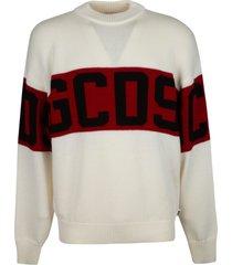 gcds classic logo knit sweater