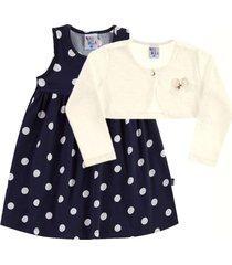 conjuntos pulla bulla cotton azul marinho