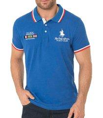 camiseta brent azul para hombre croydon