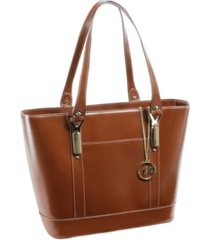 mcklein arya ladies tote with tablet pocket