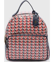 mochila mini dome backpack multicolor tommy hilfiger