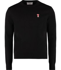 ami alexandre mattiussi crew-neck wool sweater