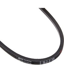 "bestorq a26 or 4l280 rubber v-belt, wrapped, black, 28"" length x 0.5"" width x..."