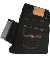nudie jeans lean dean denim jeans - dry japanese selvedge 112019
