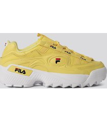 fila d-formation sneakers - yellow