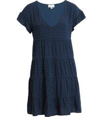 women's socialite tiered babydoll dress