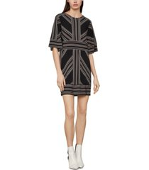 bcbgmaxazria printed mini dress
