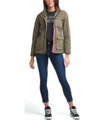 levi's 4-pocket contrast-trim military jacket
