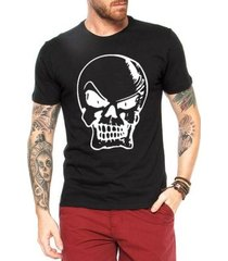 camiseta criativa urbana bad caveira