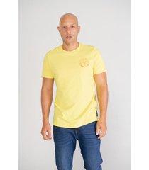 camiseta pompilio slim algodon 100% bordado