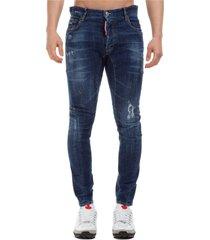 jeans uomo tidi biker