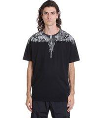 marcelo burlon cross regular sweatshirt in black cotton