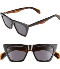 women's rag & bone 51mm cat eye sunglasses -