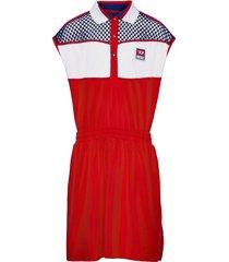 dreia dress klänning röd diesel