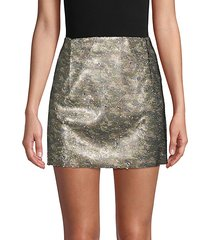 skinny sequin camo mini skirt