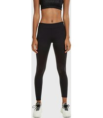 legging desigual essentials compre negro - calce ajustado