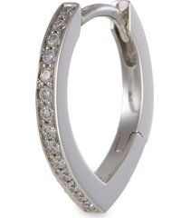 'antifer' diamond 18k white gold earring