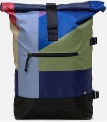 maleta rayas verde 20 lts mônt bags