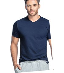 camiseta adulto masculino azul navy marketing  personal