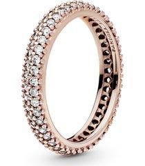 anel rosê brilho tropical