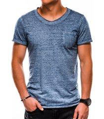 ombre heren t-shirt s1051 denim