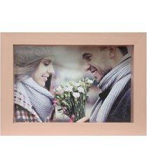 porta retrato caixa color 15x21cm rosa