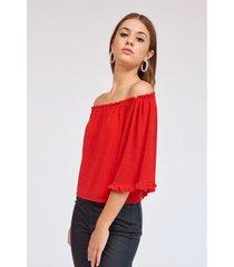 blusa roja 47 street magic