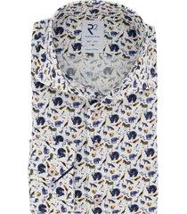 mouwlengte 7 r2 overhemd wit met dieren