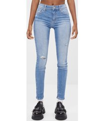 push-up jeans met stretch