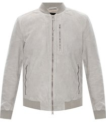 'kemble' suede bomber jacket