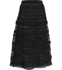 segale knälång kjol svart weekend max mara