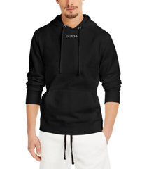 guess men's essential roy guess hoodie