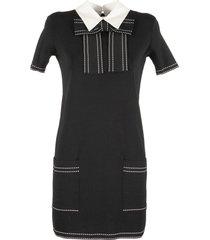 elisabetta franchi celyn b. knit dress with bow