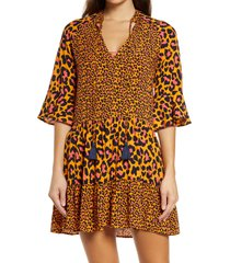 women's maaji bonfire infinite tunic dress