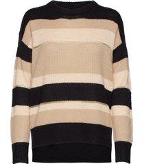 edith pullover gebreide trui multi/patroon minus