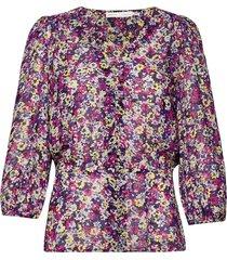 florizzaiw blouse blouse lange mouwen roze inwear