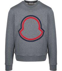 moncler maxi logo sweatshirt