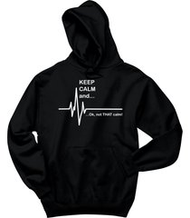 keep calm & ok not that calm funny paramedic emt shirt hoodie