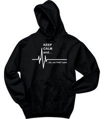 keep calm & ok not that calm funny paramedic emt shirt hoodie